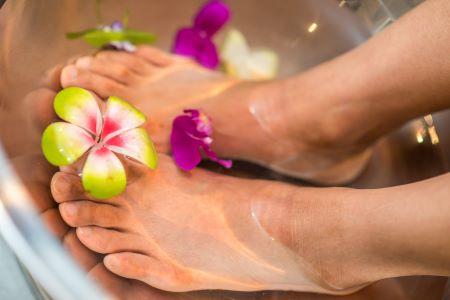Opruimen voeten